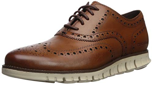 Cole Haan Men's Zerogrand Wing Oxford, British Tan, 10.5 M US