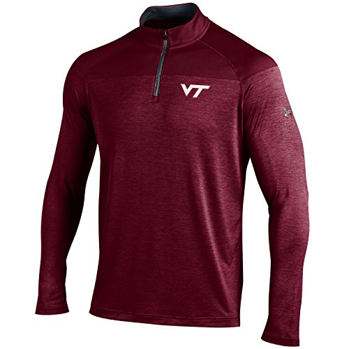 Under Armour NCAA Virginia Tech Hokies Men's Tech 1/4 Zip Tee, X-Large, ()