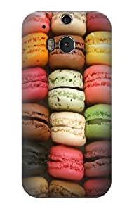 S0080 Macarons Case Cover for HTC ONE M8