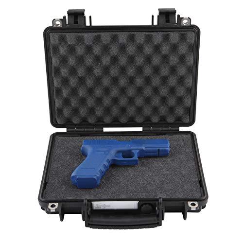 Explorer Cases Explorer Handgun Case 3005B, Black, Single Pistol