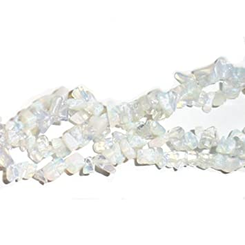 Clear Opalite 5-8mm Chip Beads GS3073 Charming Beads Long Strand 240