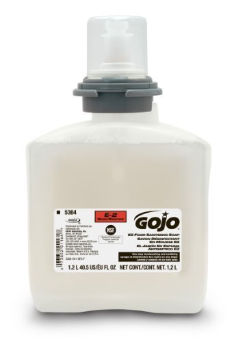 GO-JO INDUSTRIES PURELL E3 RATED IHS TFX2/1.2L 5393-02 per CASE