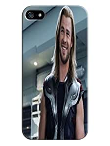 Cool Chris Hemsworth Thor fashionable Forward cool pictures TPU phone Protection Case Cover for iphone 5/5s
