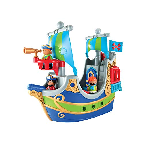 Early Learning Centre 148426 HAPPYLAND Pirate Ship, Multi