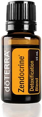 doTERRA - Zendocrine Essential Oil Detoxification Blend -Supports Healthy Liver Function, Elimination, Body System Purification and Detoxification; For Diffusion, Internal, or Topical Use - 15 mL