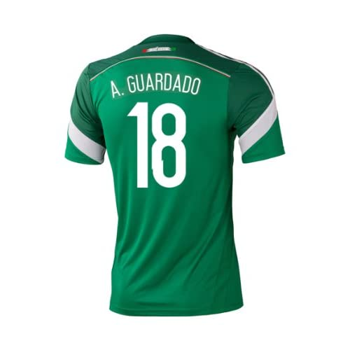 Wholesale Adidas A. GUARDADO #18 Mexico Home Jersey World Cup 2014 YOUTH for cheap