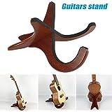 Remaxm Soporte para Guitarra, Instrumento de Cuerdas Musicales, Soporte para Guitarra acústica de Madera,…