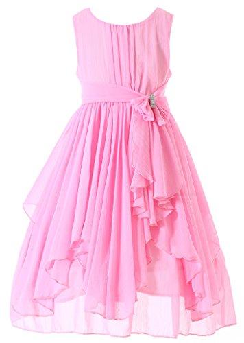 Pink Ruffled Dress - 3