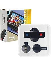 heyaa Adaptador Bluetooth compatível com Switch/Lite/PS4/PS5, Transmissor de áudio sem fio BT 5.0 com baixa latência USB C para A Conversor para fones de ouvido Bluetooth Fones de ouvido