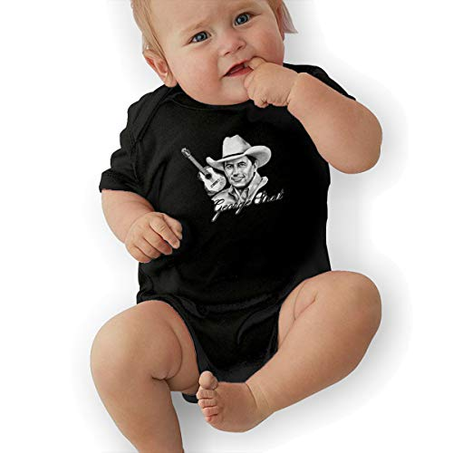 George Strait Unisex Infant 100% Cotton Bodysuit for 0-24 Month