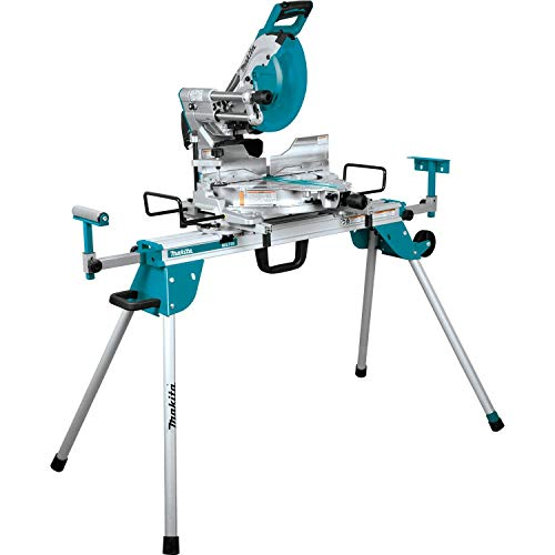 Makita LS1219LX 12 inch Dual-Bevel Sliding Compound Miter Saw with Laser and Stand