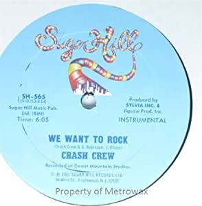 Crash Crew, The - We Want To Rock