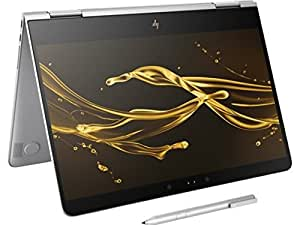 """HP Spectre x360 - 13t Stylus(7th Gen. Intel i7-7500U, FHD, Windows 10 Windows Ink) 2-in-1 13.3"""" Tablet Convertible Kaby Lake Touchscreen Bang & Olufsen Thunderbolt (16G 512G SSD - Silver)"""