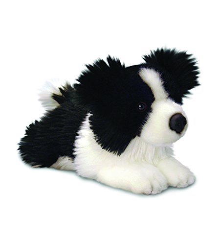 25cm Jessie Border Collie Soft Toy Dog ()