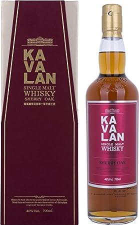 kavalan Single Malt Whisky Sherry Oak (1x 0,7l)