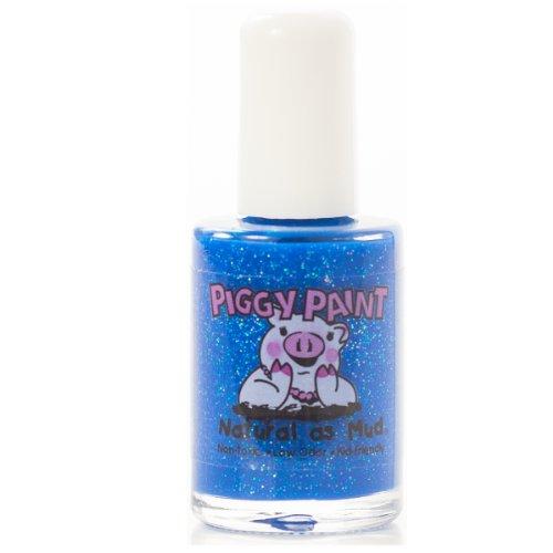Piggy Paint 100% Non-toxic Girls Nail Polish - Low Odor for Kids - Brand Spankin Blue