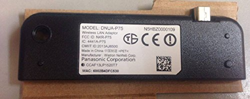 Panasonic DNUA-P75 LAN Adapter for TC-60AS640U (Lan For Adapter Panasonic Tv)