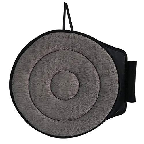 (MChoice❤️Car Seat Revolving Rotating Memory Foam Cushion Swivel Mobility Aid Chair Pad (E))