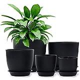 Plastic Planter, HOMENOTE 7/6/5.5/4.5/3.5 Inch