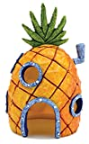 Nickelodeon's SpongeBob SquarePants Small 6 Inch Pineapple House Aquarium Ornament from Penn Plax - Durable Resin Safe for All Fish - SBR10
