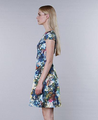 Kilian bunt Kilian Kerner Damenkleid Flowers Kerner rxr0n7dX