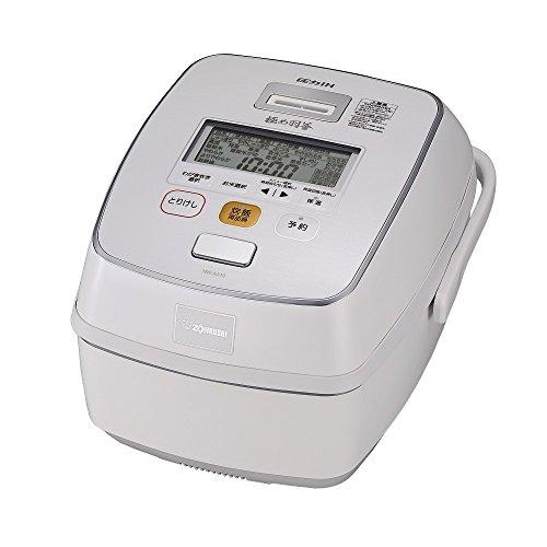 ZOJIRUSHI 5.5 Go (825g) cooked IH pressure rice cooker KIWAMEDAKI NW-AA10-WZ (prime White)
