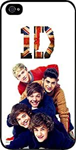 1D Silhouettes- Hard Black Plastic Snap - On Case-Apple iphone 5c - Great Quality!