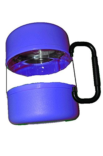 Travel Food Container & Bowls for Pets or Kids - Blue