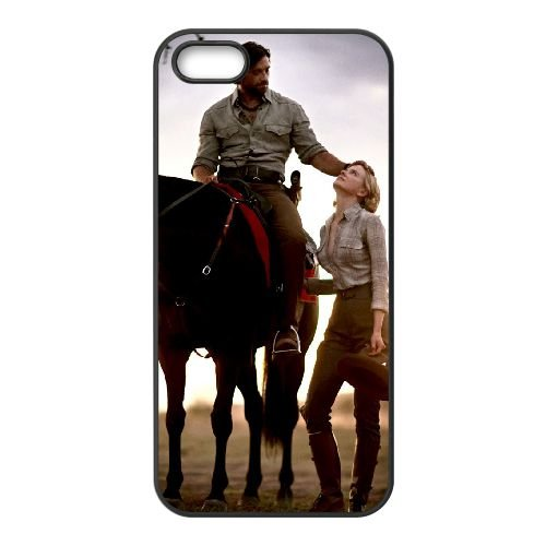 Australia 7 coque iPhone 5 5S cellulaire cas coque de téléphone cas téléphone cellulaire noir couvercle EOKXLLNCD21844
