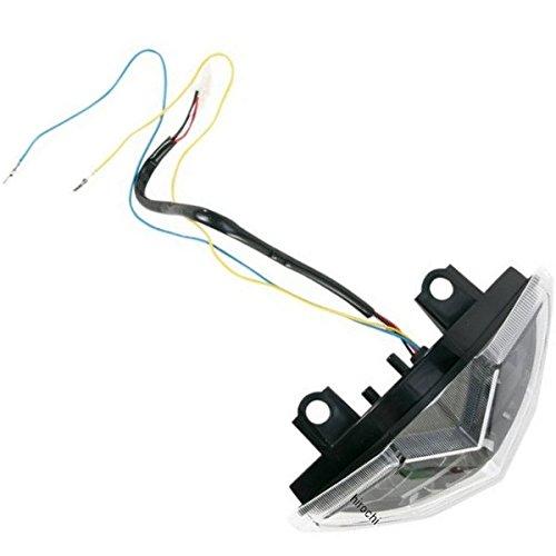 コンペティション ワークス Competition Werkes LEDテールライト クリア 08年-12年 GSX-R1000、GSX-R750、GSX-R600 2010-0986 MPH-20069C B01M0OYDOI