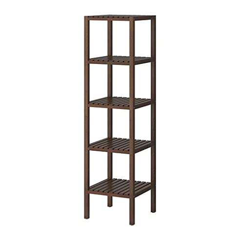 Bücherregal ikea braun  IKEA MOLGER Regal in dunkelbraun: Amazon.de: Küche & Haushalt