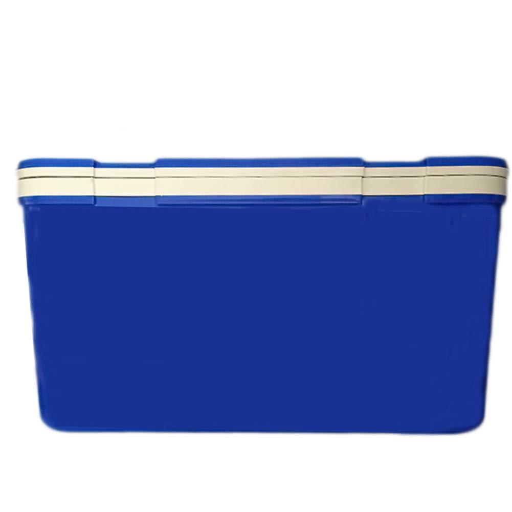 LIANGLIANG クーラーボックス アウトドア保温性が高いハンドルを動かすことができます 容量保持フレッシュネスポータブル多機能健康66L (色 : 青, サイズ さいず : 65.5x48.5x36.5cm) 65.5x48.5x36.5cm 青 B07GR7D3KQ
