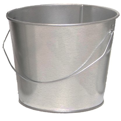 5 Qt. Galvanized Steel Pail (1 Pail) by Product Conect (Image #2)
