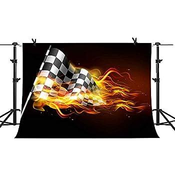 Amazon com : Race Track Photography Backdrops - Photo Background