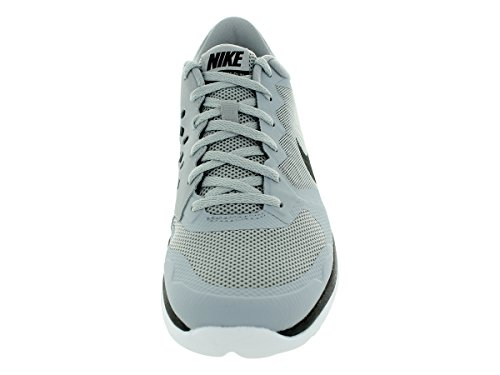 Nike Flex 2015 RN Zapatillas de running, Hombre Gris / Negro / Blanco (Wolf Grey / Black-White)