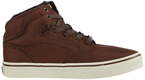 Vans Y Winston Unisex-Kinder Hohe Sneakers Braun (Leather brown/brown)