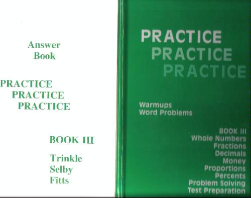Download Practice Practice Practice, Book 3: Warmups / Word Problems PDF