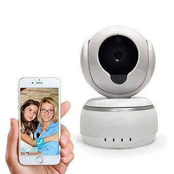 Cámara ip de Seguridad 4x Zoom Digital Resolución HD Notificación en Tiempo Real bebé Cámara de