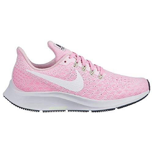 76666154210ad4 Nike Kids Girl s Air Zoom Pegasus 35 (Little Kid Big Kid) Pink  Foam White Pink Rise Anthracite 3.5 M US Big Kid