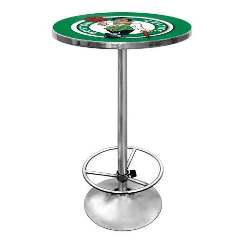 NBA Boston Celtics Chrome Pub Table by Trademark Gameroom