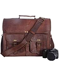 Vintage Leather Bazaar Leather Briefcase, Mens Leather Backpack Leather Laptop bag Messenger Bag