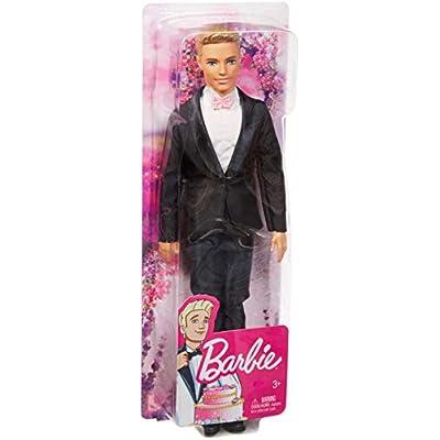 Barbie Ken Fairytale Groom Doll in Tuxedo: Toys & Games