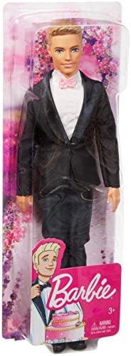 Barbie DVP39 - Bräutigam Ken Modepuppe