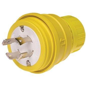 41juKm941YL._SX342_ woodhead 28w81 watertite wet location locking blade plug, 3 phase, 5