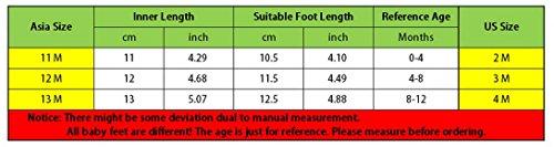 Motiven 0 Feoya 11m Alt Antirutsch Herstellergröße Sohle Leicht Baby Verschiedenen Babyschuhe Jahr 1 Lauflernschuhe Für Mit Super CHf8wCq