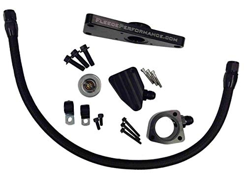 Fleece Performance Engineering FPE-CLNTBYPS-CUMMINS-6.7 Coolant Bypass Kit (07.5-12 Dodge 6.7L Cummins (07.5-15 6.7L))
