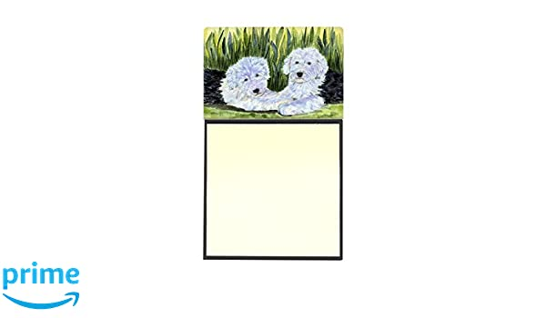 Bichon Frise Dogs Notepad 50 Sheets 8.5 x 5.5 New Black /& White Drawing-3 pads