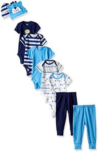 Gerber Baby Boys' 9 Piece Playwear Bundle