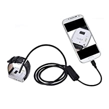 NEW 5.5mm Android Endoscope IP67 Waterproof USB Inspection Snake Tube Camera 2M Cable for Samsung Galaxy S5/S6/Note 2 3 4 5