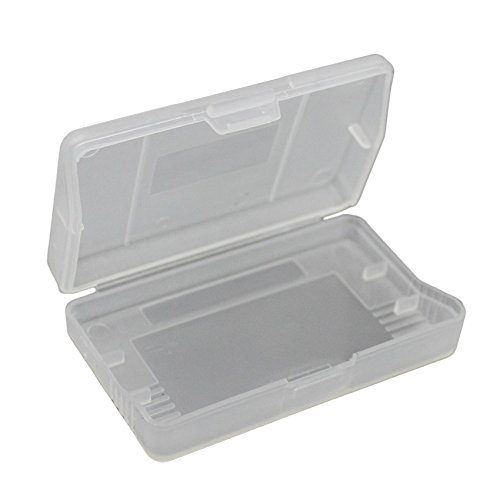 iMinker Clear Plastic Game Card Cartridge Storage Case Box Dust Cover for Gameboy Advance SP, GBA, GBA SP, GBM (50 Pieces)